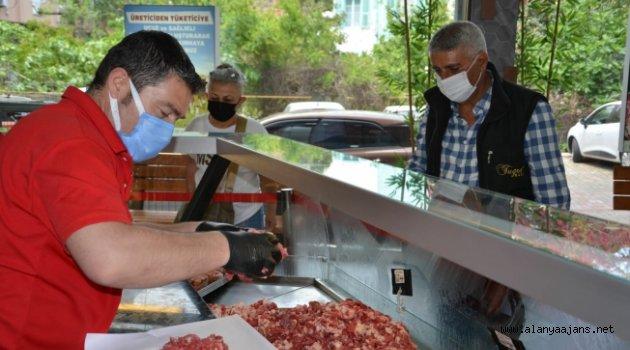 1 yılda 63 bin kg et ürünü satıldı
