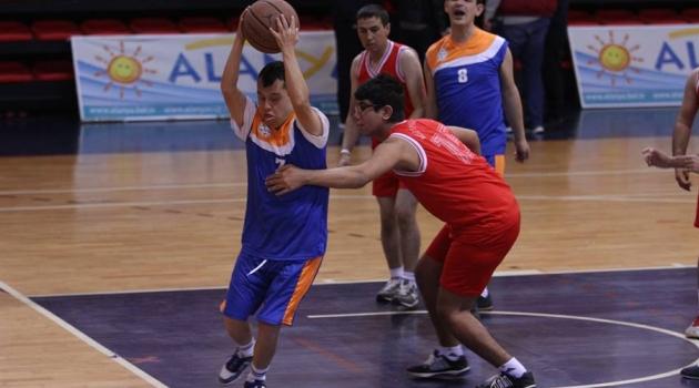 Özel Sporcular Basket Şampiyonası Başladı