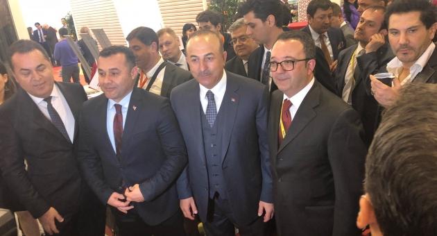 Bakan Çavuşoğlu MITT Fuarında