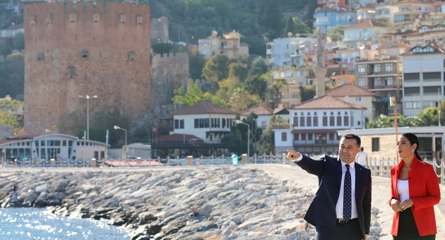 Başkan Yücel Alanya'yı CNN Türk'e Anlattı