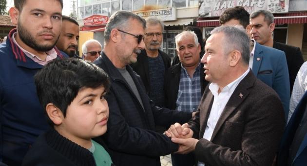 Böcek Antalya'yı Karış Karış Geziyor