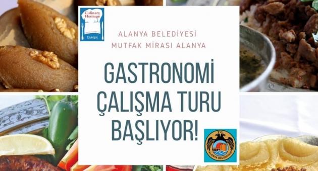 Alanya'da Gastronomi Çalıştayı Başlıyor
