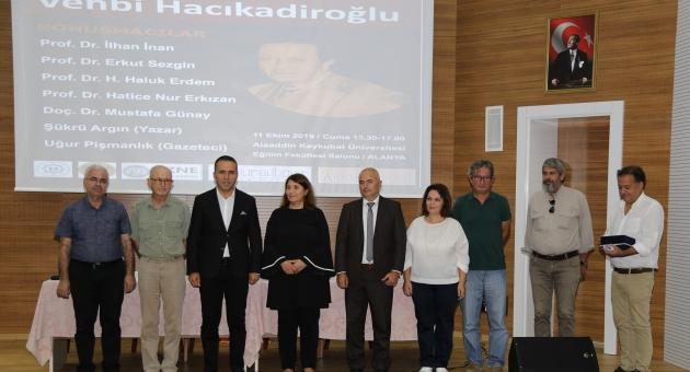 Ünlü Felsefeci Alanya'da Anıldı