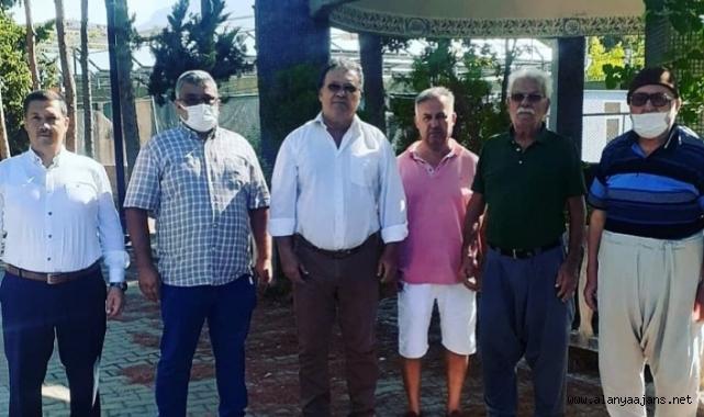 Alanya'da kaza kurbanı başkan dualarla anıldı