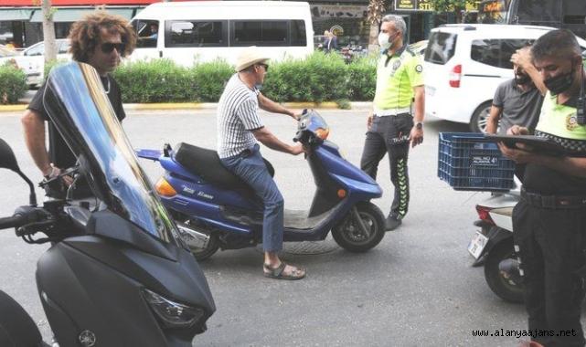 Alanya'da polis denetimleri sıklaştırdı