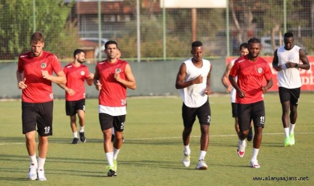 Alanyaspor, Kasımpaşa maçı hazıklıklarına başladı