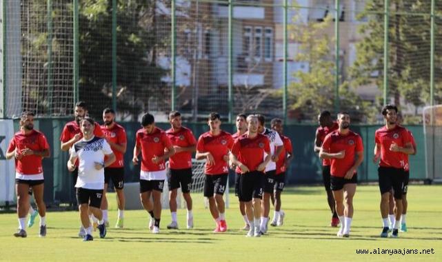 Alanyaspor, Trabzonspor maçı hazırlıklarına başladı