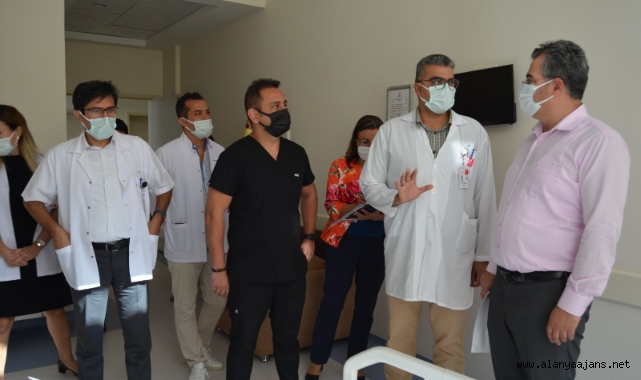 Asiltürk'ten Alanya Eğitim ve Araştırma Hastanesi'ne tam not