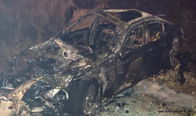Alanya'da hatalı sollama kaza getirdi: 1 ölü