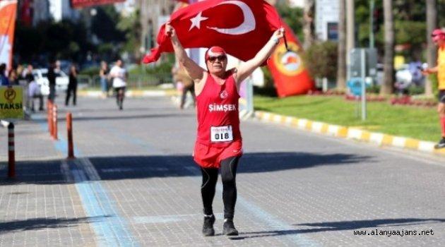 21. Alanya Atatürk Halk koşusu için geri sayım