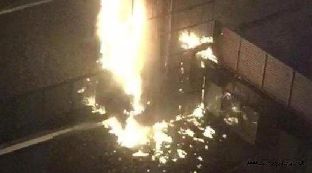 5 yıldızlı otelin jeneratör dairesinde yangın -2