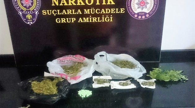 50 adet uyuşturucu hap ele geçirildi