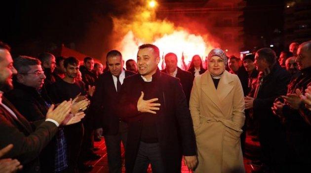 Adem Murat Yücel açık ara farkla yeniden başkan!