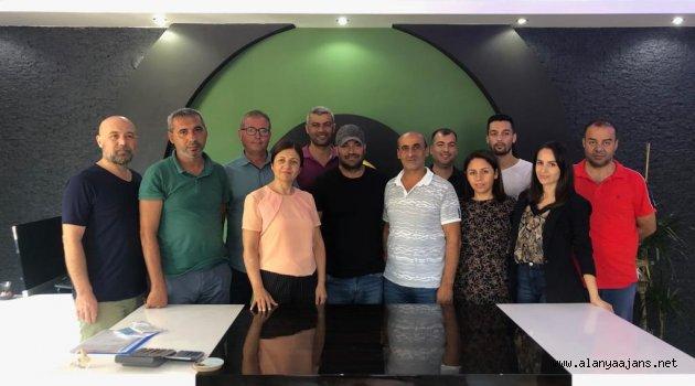 AGC'den gazetecilere geçmiş olsun ziyareti