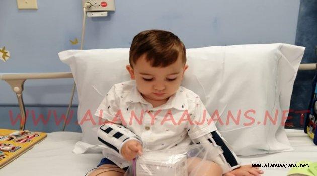 Ahmet bebeğin ilaç tedavisi başladı