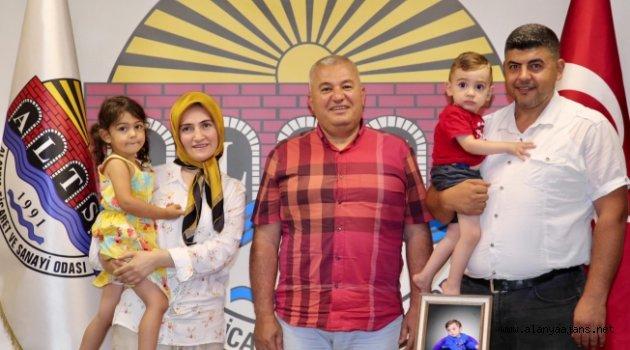 Ahmet bebek bugün Alanya'dan uğurlanacak
