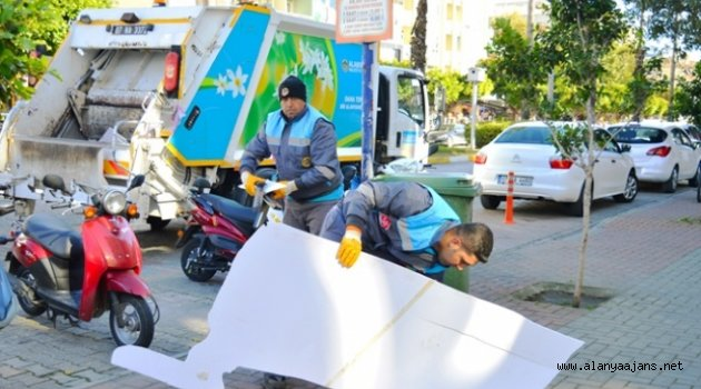 Alanya Belediyesi Temizyiliyor
