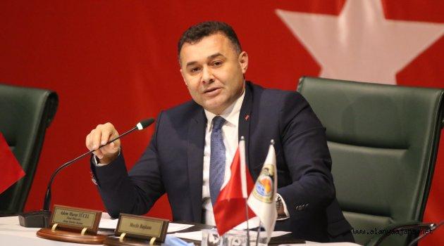 Alanya Belediyesi'nin Mart meclisi yapıldı