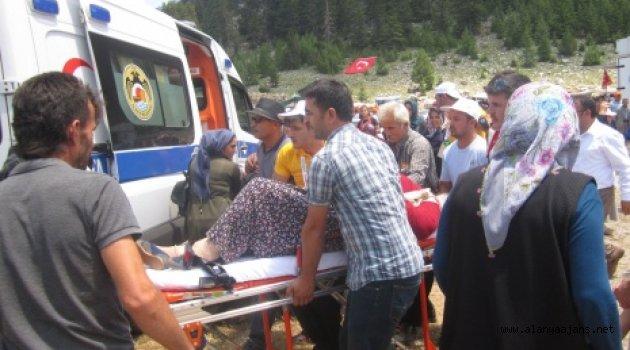 Alanya'da hortum dehşeti: 6 yaralı!