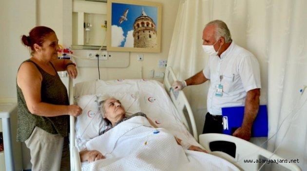 Alanya'da palyatif hastalarına manevi destek