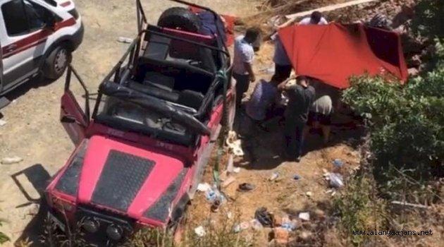 Alanya'da safari faciası: 1 ölü, 9 yaralı