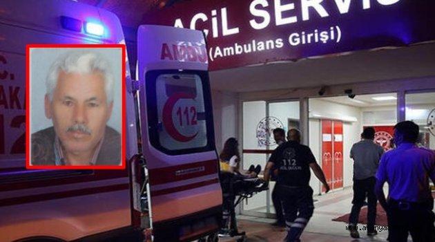 Alanya'da talihsiz adamın sağlık ekipleri ayağına geldi ancak kurtarılamadı!