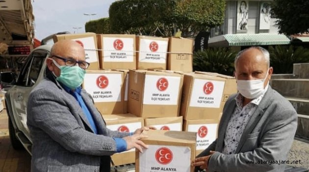 Alanya MHP ihtiyaç sahiplerini unutmuyor