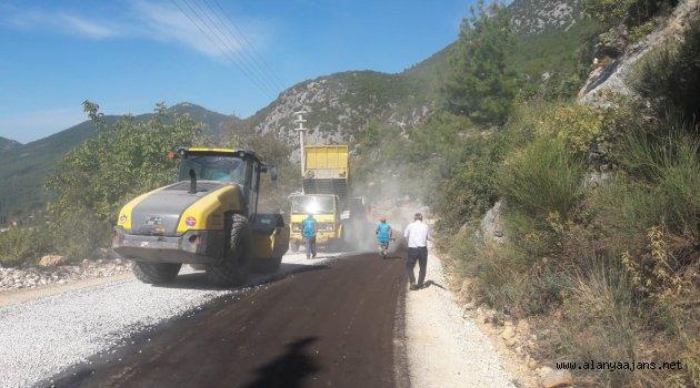 Alanya'da Asfaltsız Yol Kalmayacak