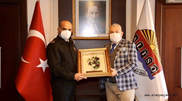 Alanya'da Başoğlu Paşa'dan Başkan Şahin'e ziyaret
