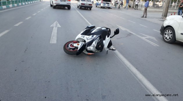 Alanya'da feci kaza! 1 ağır yaralı