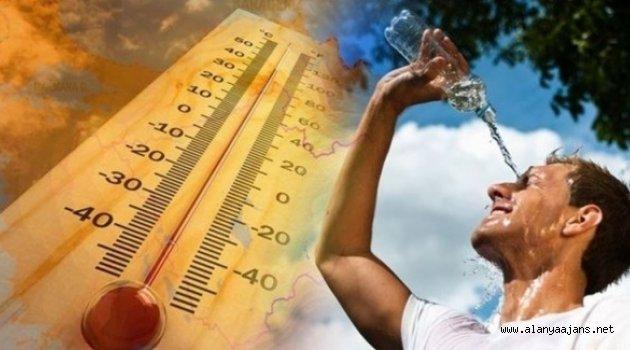 Alanya'da hava sıcaklığı artacak