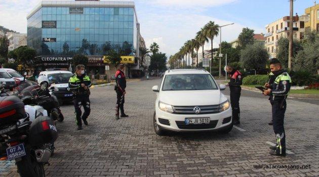 Alanya'da kısıtlama ihlaline ceza yağdı