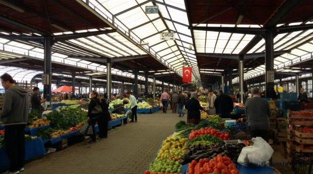 Alanya'da pazarların kapanış saatleri değişti