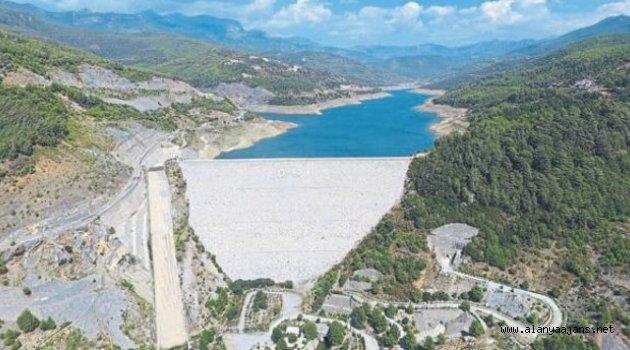 Alanya'da su üretim tesisinde arıza çıktı