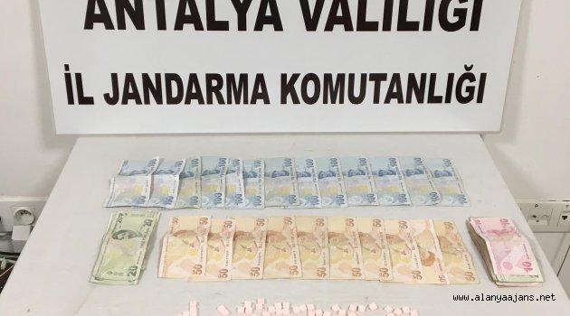 Alanya'da yine uyuşturucu taciri yakalandı