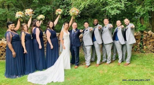 Alanyalı bankacı Amerika'da evlendi