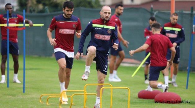 Alanyaspor, Konyaspor maçı hazırlıklarına başladı