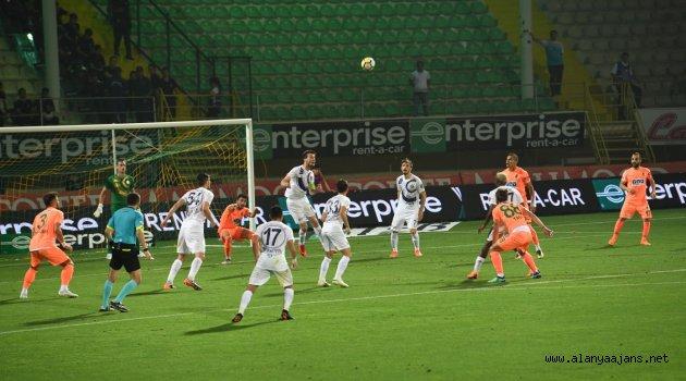 Alanyaspor - Osmanlıspor : 1-1