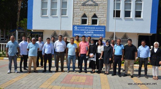 Antalya Büyükşehir Belediyesi'nin Alanya'daki birimleri bayrama hazır