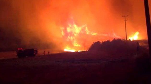 Antalya'da çıkan yangın 7 saat sonra söndürüldü