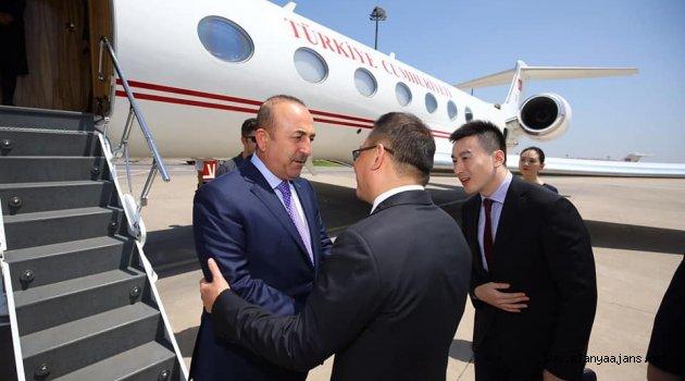 Bakan Çavuşoğlu Çin'de