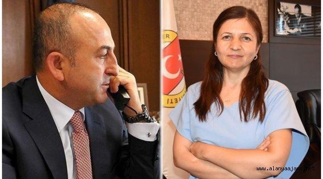 Bakan Çavuşoğlu'ndan Coşkun'a tebrik telefonu
