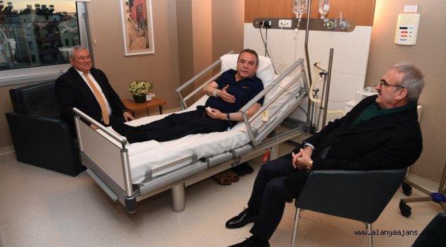 Başkan Böcek hastanede tedaviye alındı