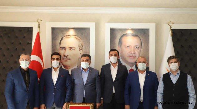 Başkan Toklu, sağlıkçıları ağırladı