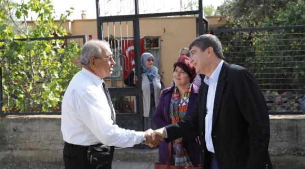 Başkan Türel'den Gaziye Ziyaret