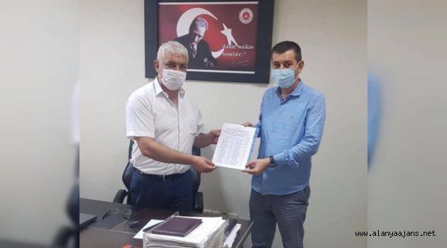 Başkan Türkdoğan mazbatasını aldı
