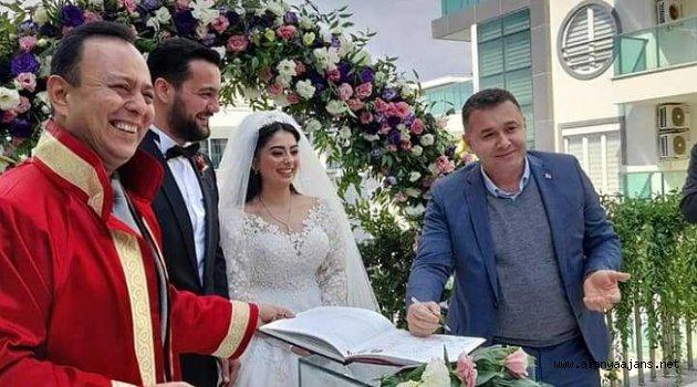Başkan Yücel nikah şahidi oldu