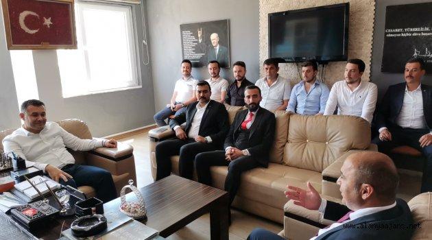 Başkan Yücel ülküdaşlarıyla buluştu