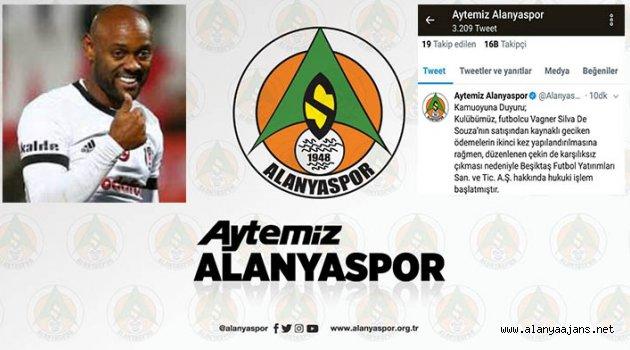Beşiktaş'a Vagner Love Davası