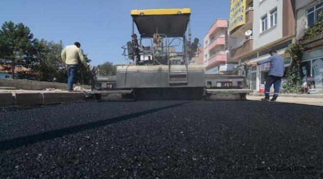Büşükşehir Asfalt Çalışmalarına Ara Vermeksizin Devam Ediyor